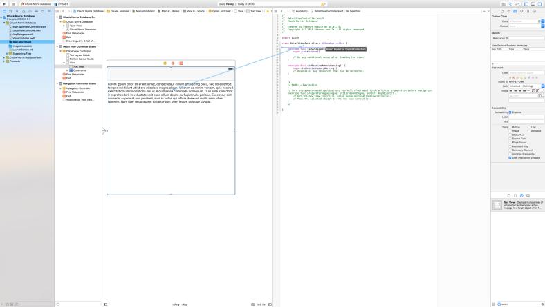WebService, TableView, Segue & co. – Einstieg in iOS Apps mit Swift Teil 1