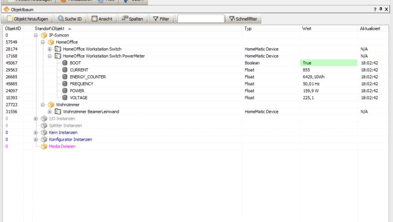 Installation von IP Symcon und Erstkonfiguration für Homematic CCU